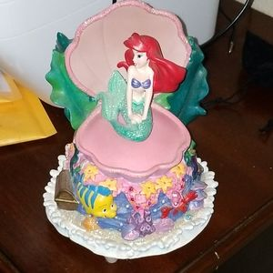 Disney The little mermaid  singing music box